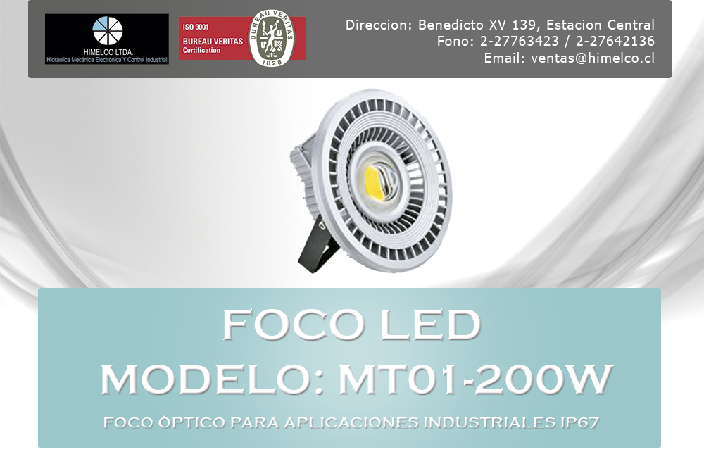 Foco Led MT01-200W